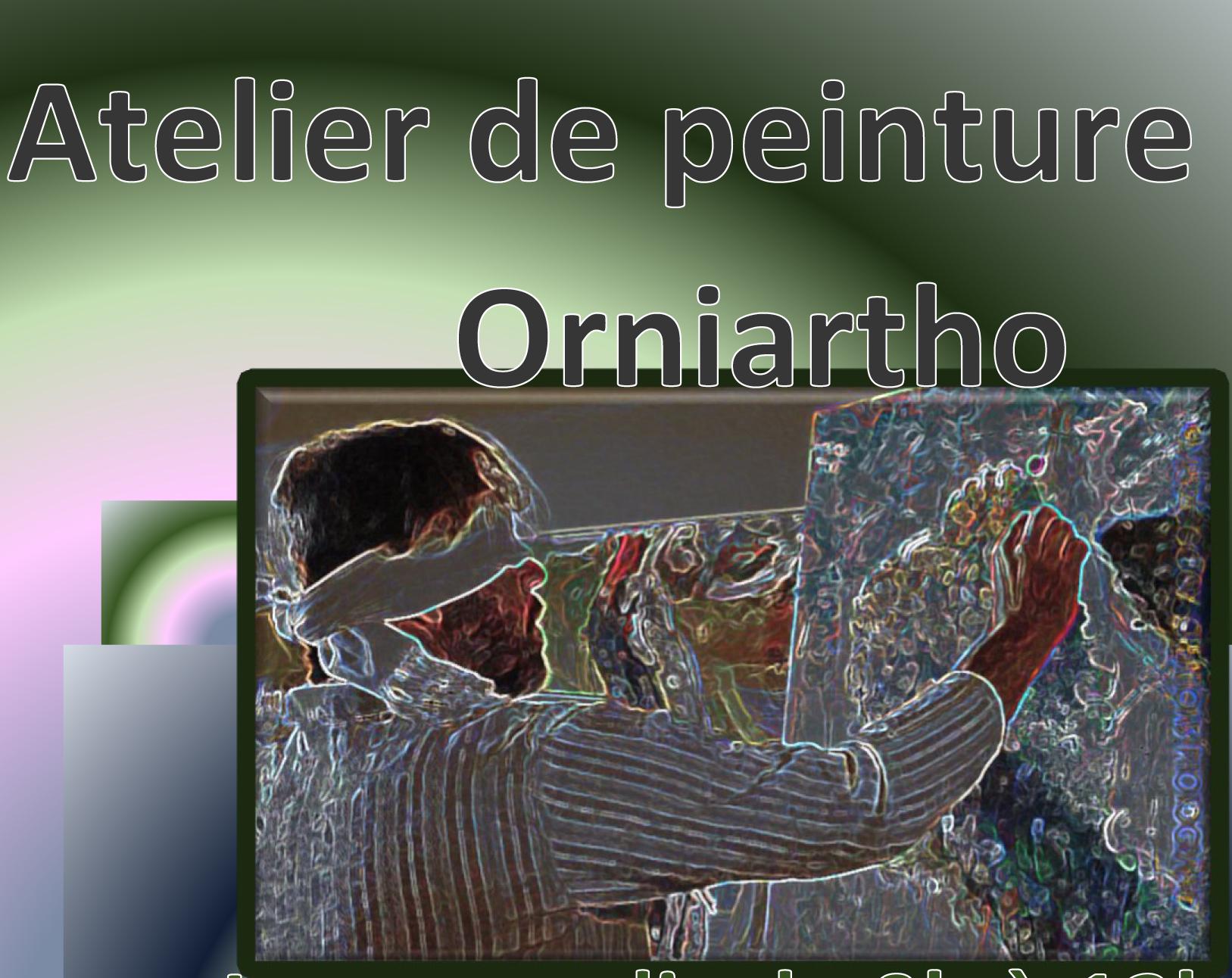 Pub atelier peinture Orniartho